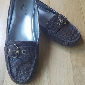 Anne Klein iFlex Mocha Driving Shoes